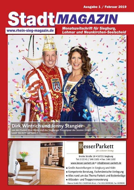 Stadt-Magazin Siegburg, Lohmar, Neunkirchen-Seelscheid - Januar 2019