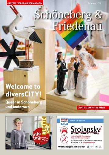 Gazette Schöneberg & Friedenau Februar 2019