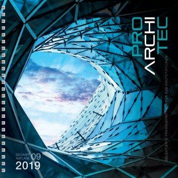 pro ArchiTec - Ausgabe Frühjahr 2019