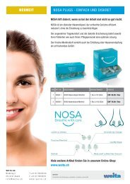 NOSA Plugs