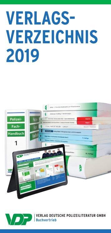 Verlagsverzeichnis VDP 2019