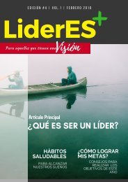 Revista LíderEs+ Edición No. 4