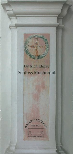 Schloss Mochental Broschüre