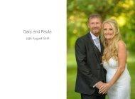 Gary and Paula Wedding Album