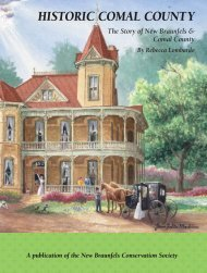 Historic Comal County