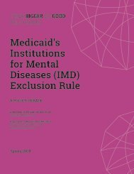 Medicaid's Institutions for Mental Diseases (IMD) Exclusion Rule