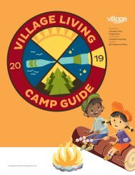 2019 Village Living Magazine - Camp Guide Media Kit