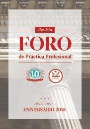Revista El Foro - 10 años