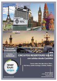 Catalogo Circuitos 2019 Resertours Viajes