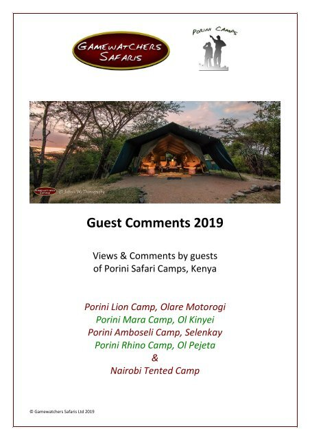 Guest Comments Book 2019_all