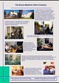 Sports-Medicine Clinic Konstanz & Singen - Sportklinik Konstanz ... - Page 4