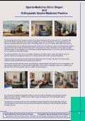 Sports-Medicine Clinic Konstanz & Singen - Sportklinik Konstanz ... - Page 5