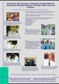 Sports-Medicine Clinic Konstanz & Singen - Sportklinik Konstanz ... - Page 6