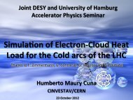 cloud build-‐up simula-on 1. Seed electrons genera-on - Machine ...