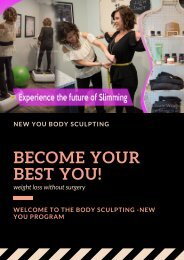 body contouring At New You Body Sculpting Illinois