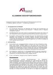 ALLGEMEINE GESCHÄFTSBEDINGUNGEN - Absolute-It