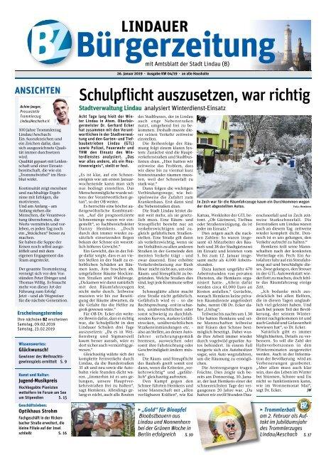 26.01.2019 Lindauer Bürgerzeitung