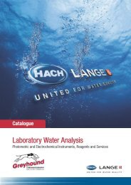 Hach Lange Laboratory Water Analysis