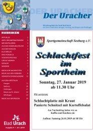 Der Uracher KW 04-2019