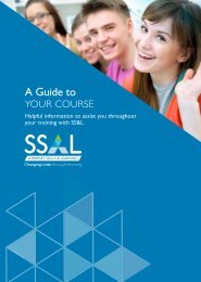 A Guide to Your Course with Somerset Skills & Learning