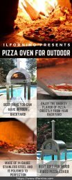 Pizza Oven for Outdoors