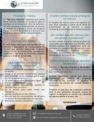 CARTA DE SERVICIOS EN MARCAS
