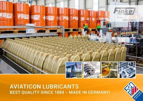 Finke Aviaticon - Germany Motor Oil - Finke Oil Team