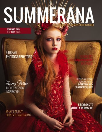"SUMMERANA MAGAZINE | FEBRUARY 2019 | The ""Red"" Issue"
