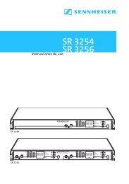 Transmisor SR 3254/SR 3256  - Klein + Hummel