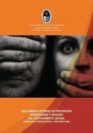 REGLAMENTO INTERNO DE PREVENCIÓN INTERVENCIÓN Y SANCIÓN DEL HOSTIGAMIENTO SEXUAL