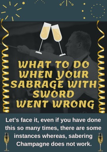 Easiest Way to Saber a Champagne Bottle  | Champagne Sabre