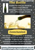 Easiest Way to Saber a Champagne Bottle  | Champagne Sabre - Page 3