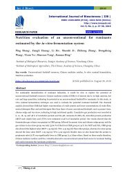 Nutrition evaluation of an unconventional for ruminants estimated by the in vitro fermentation system