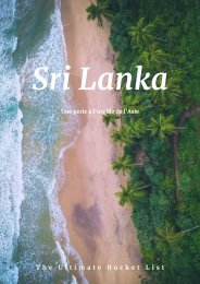 Sri Lanka - Bucket List