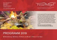Feuervogel Kursprogramm 2019
