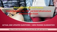 Oracle 1z0-068 Exam Questions - Pass 1z0-068 Exam in First Attempt