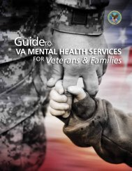 Guide to VA Mental Health Services