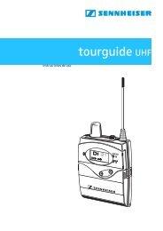 tourguide UHF - Sennheiser UK