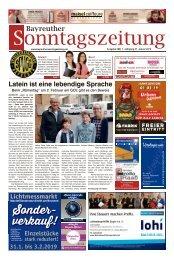 2019-01-27 Bayreuther Sonntagszeitung