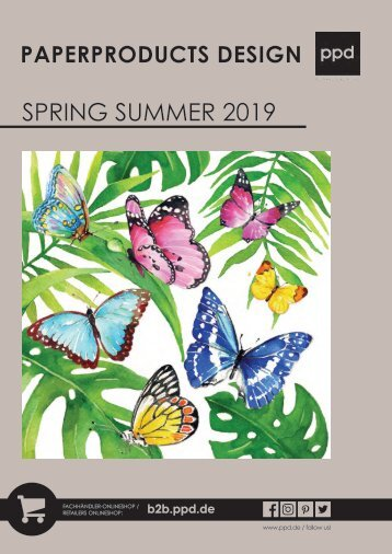PPD Spring Summer Catalogue 2019