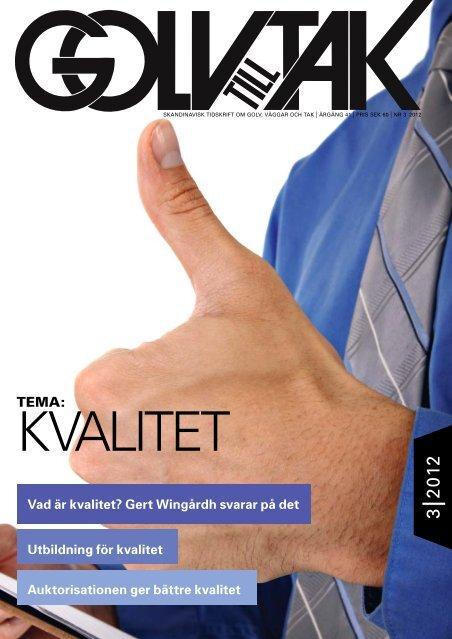 Golv till Tak #3-2012