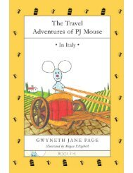 The Travel Adventures of PJ Mouse In Italy