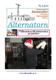 Alternatorn 2018-4 SE