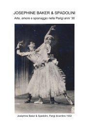Joséphine Baker & Spadolini - arte, amore e spionaggio nella Parigi anni '30