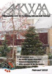 Wijkblad Aakwaa februari 2019