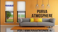 Purva Atmosphere Thanisandra Road Bangalore