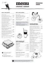 menu snídaně, zima 2019