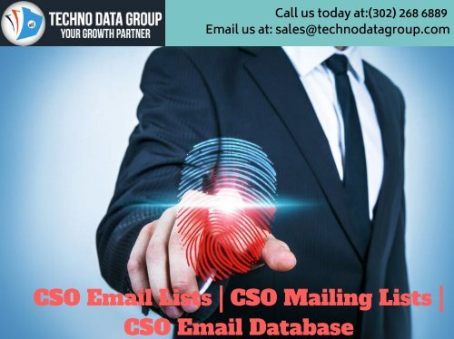 CSO Email Lists _ CSO Mailing Lists _ CSO Email Database in usa