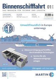 Binnenschifffahrt Januar 2019 – E-Paper