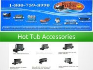 Top Quality Hot Tub Accessories